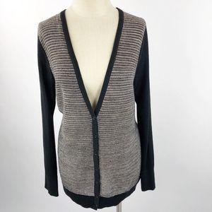 Ann Taylor LOFT Button Down Cardigan Sweater XL